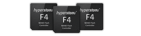 F4 NAND Flash Controller Hyperstone Representation