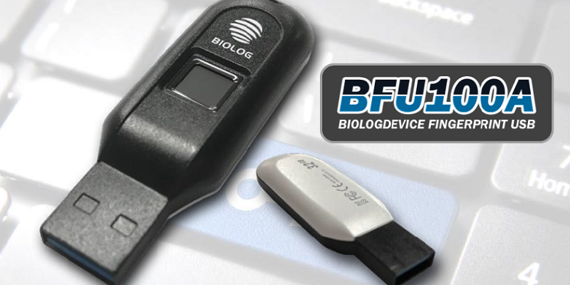 Secure fingerprint USB