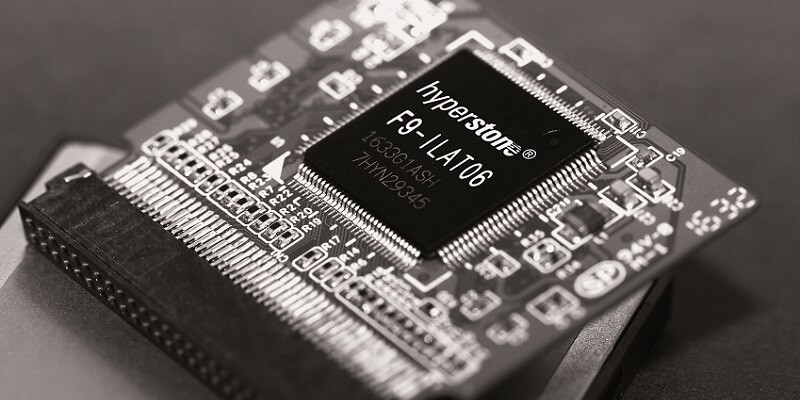 High reliability CompactFlash controller from Hyperstone adds 3D Flash