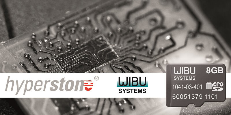 Hyperstone inside Wibu-Systems Security Technology